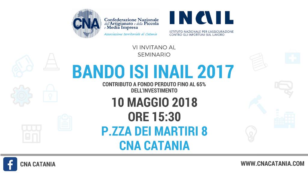 """Seminario-""""Bando-ISI-INAIL-2017"""""""